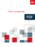 SPSS Brief Guide 13.0