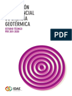 Evaluación Potencial Energía Geotérmia