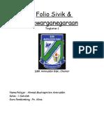 Folio Sivik & Kewarganegaraan Tingkatan 1(Complete all theme)