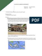 (2) Ulangan Harian Geografi Kelas x Smt 1 Konsep Geografi