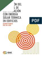 POTENCIAL CLIMATIZACIÓN ENERGÍA SOLAR TÉRMICA