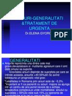 Arsuri-generalit &Tratament de Urgenta