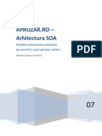 Exemplu de Arhitectura SOA cu explicatii