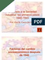 El tránsito a la Sociedad Industrial 2010