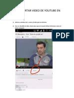 Como Insertar Video de Youtube en Blogger1