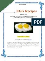 111 Egg Resipes