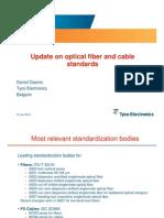 Fibra óptica - evolución de estándares