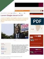 Laurent Gbagbo Devant La CPI _ Slate Afrique