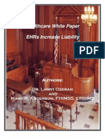2011 White Paper - Do EHRs Increase Medical Liability