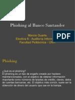 Phishing Banco Santander Presentacion