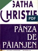 Agatha Christie- Panza de Paianjen