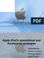 Apple iPod Promotional Strategy