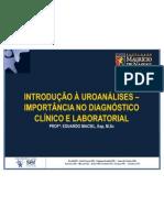 2. Introdução a Uroanálise