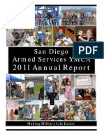 San Diego Armed Services YMCA 2011 Annual Report- Final