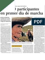 Pobladores de Cajamarca