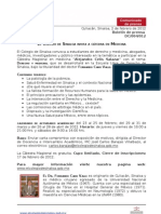 04_Boletín, Cátedra en medicina