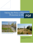 Taking the Pulse of Riparian Protection in Montana