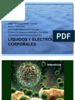 Líquidos y electrolitos corporales composición