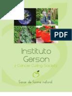 Terapia Gerson Panfleto Informativo