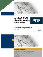 PLM Quality Analytics