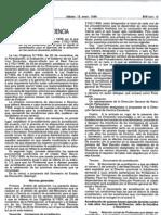 orden 10 de enero de 1996
