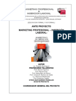 Marketing Profesional Inserción Laboral