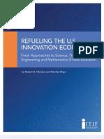 Refueling the U.S. Innovation Economy