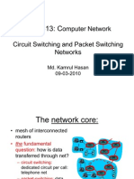 28071480 Circuit Switching and Packet Switching