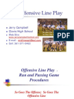 2009 Mega This One Offensive Line Play