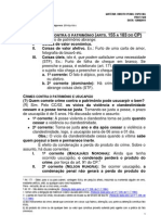 11.08.12 - Direito Penal Especial - Anual Estadual - Favio Monteiro de Barros