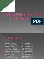 Ekstraksi Biner Cair-Cair(2)