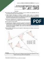 Ângulos externos de um triângulo