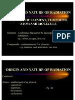 Origin and Nature of Radiation (English)