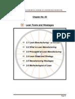 lean manufaturing and six segma