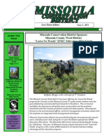 2011 Issue 2, Missoula Conservation District Newsletter