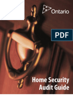 Home Security Audit Guide