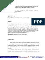 Influencia da escolaridade no conhecimento da população sobre hipertensão arteiral Causas e efeitos