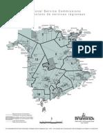 N.B. regional service boundaries
