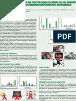 Poster Estudo de casos de portadores de virus HIV no municipio de Morrinho GO atendidios no hospital de doenças torpicais HDT