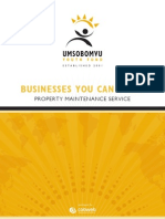 040 Businesses You Can Start - Property Maintenance Service