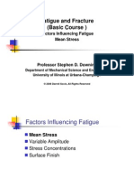 4 Fatigue Influencing Factors