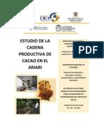 Estudio de la Cadena Productiva del Cacao en el Ariari (Meta)