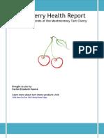 Tart Cherry Health Report