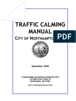 08-9 Northampton Traffic Calming Manual