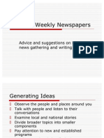 Campus Newspaper Overview