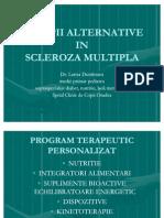 Terapii Alternative in Scleroza Multipla
