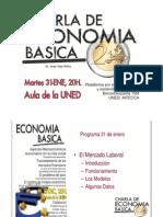 Charla economía - Mercado laboral