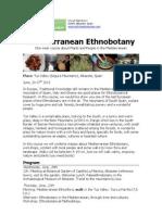 Mediterranean Ethnobotany Course