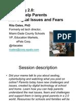 Parenting 2.0 Presentation FETC 2012