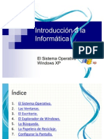 El Sistema Operativo Windows Xp